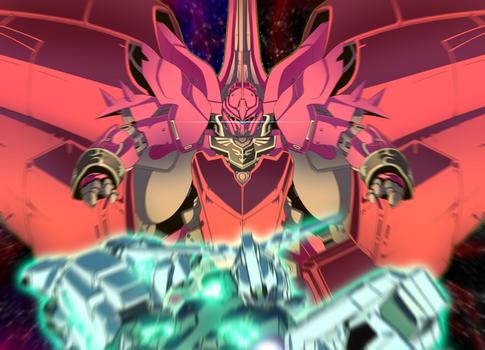 Unicorn gundam VS Neo zeong