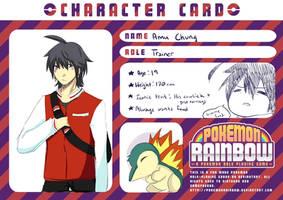 Pokemon Rainbow: Amu Chung by djchungy