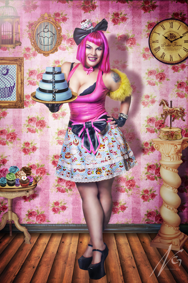 Cake Room Art : Cake Room - Sweet tooth aches. by falt-photo on DeviantArt