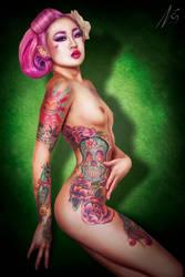 Amelia Nightmare Profile by falt-photo