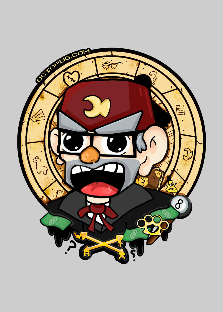 Grunkle Stan by falt-photo