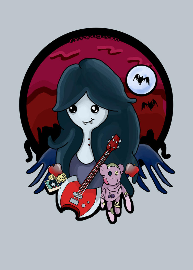 Marceline the Vampire Queen by falt-photo