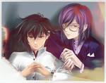 Speedpaint Setsuna and Tieria