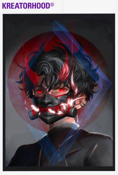 MEN YOROI The Tactical Oni Mask
