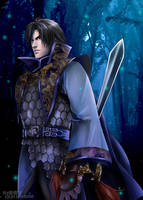 Dark-Dynasty Warriors5 Cao Pi by snowhaven