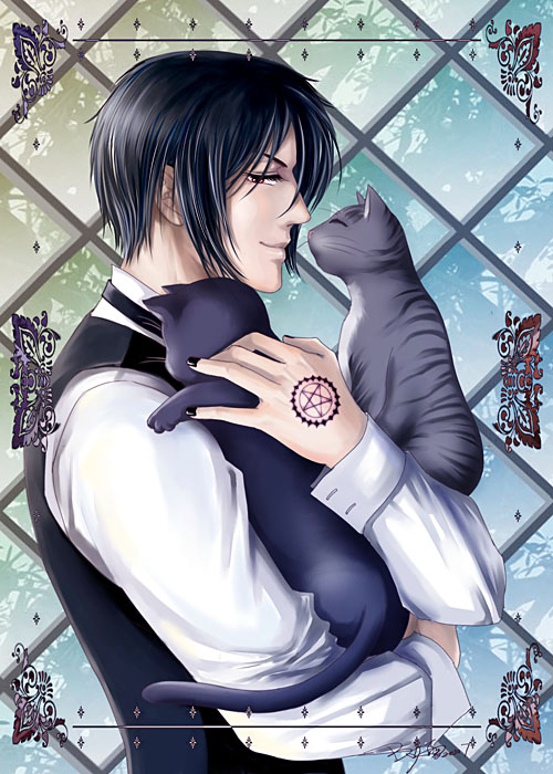 Kuroshitsuji-Cat con by snowhaven
