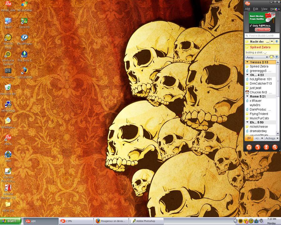 Desktop Screenshot by Rougaroux