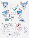 Chuck Jones Sketches