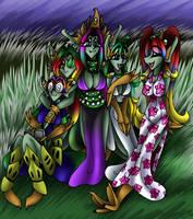BG practic: Legion Group by AkuOreo
