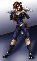 Female Fox Anthro TF TG p3 by AkuOreo
