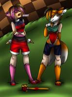 Amy and Tails TG TF p4 by AkuOreo