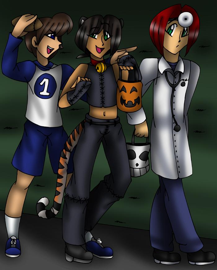 Halloween TF TG P1 By AkuOreo On DeviantArt