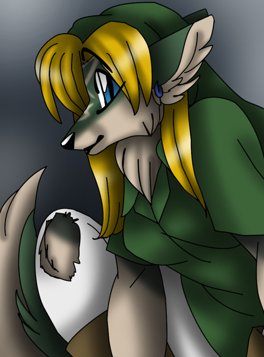 Anthro Wolf Female Female wolf anthro link by