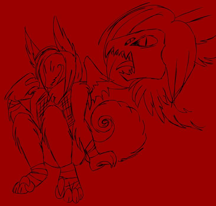 Masked Demon Dragon Anthro By AkuOreo On DeviantArt