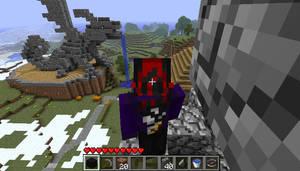 Minecraft: Dragon Statue by AkuOreo