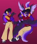 Random Dragon Anthro TF