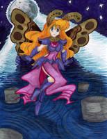 Gift: Moth Fairy by AkuOreo