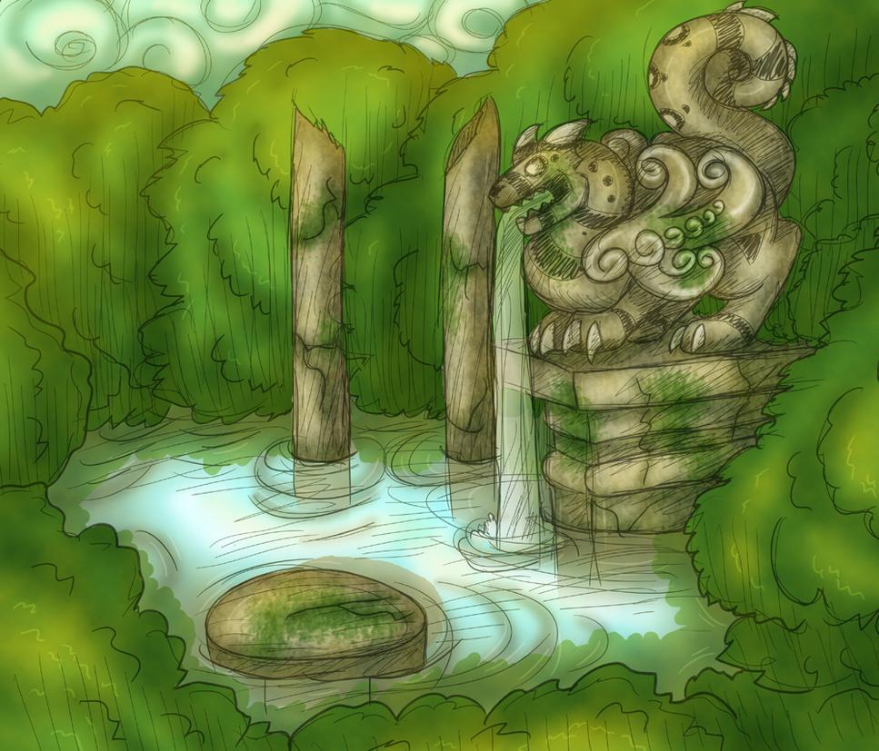 Dragon Fountain By AkuOreo On DeviantArt
