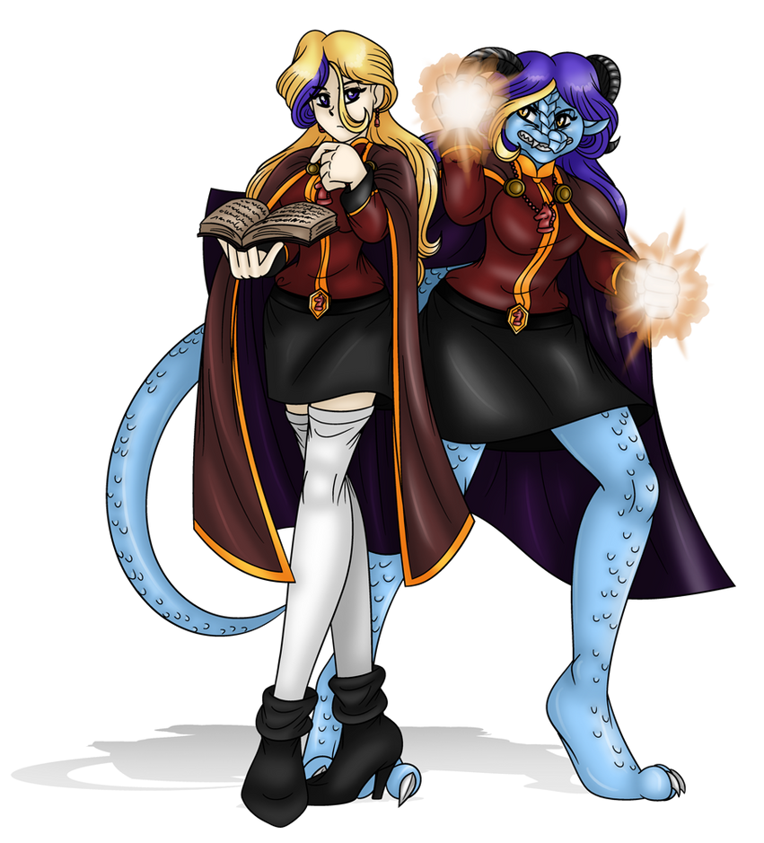 Claudia And Her Dragon Form By AkuOreo On DeviantArt