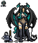 Jeanine and Chauncey Sprite by AkuOreo
