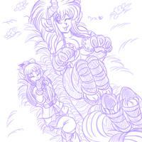 Silly Kitty Sketch by AkuOreo