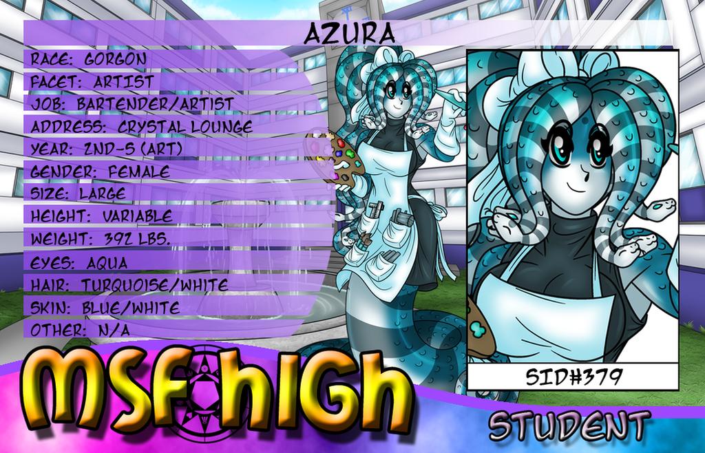 Azura Student ID by AkuOreo