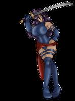 Psylocke Schmen by AkuOreo