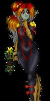 CTS BioWarp Mage Commando: Rhea Veras by AkuOreo