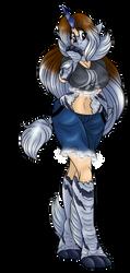 Monster Hunter Grab Bag: Kirin Monster Girl by AkuOreo