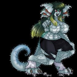 Monster Hunter Grab Bag: Great Girros Monster Girl by AkuOreo