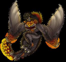 Monster Hunter Grab Bag: Bazelgeuse Monster Girl by AkuOreo