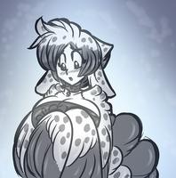 Shy Harpy by AkuOreo