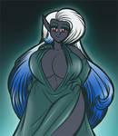 Noelle Dark Elf Colored Sketch
