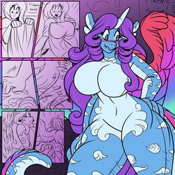 Patchwork Dragon Sketch
