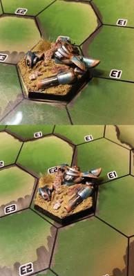 Salvage Pile Miniature: BioWarp Game