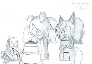 There are too many candles (B-day Gift)