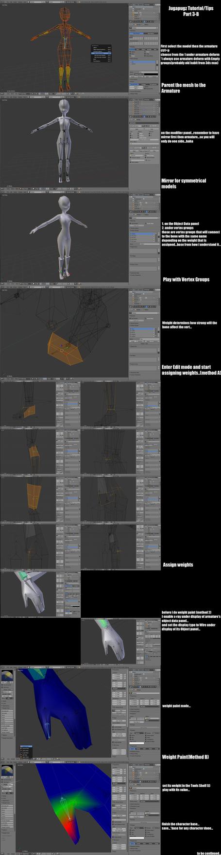Jugapugz 3d lowpoly character Tutorial/Tip Part 3B by jugapugz