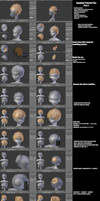 Jugapugz 3d lowpoly character Tutorial/Tip Part 4 by jugapugz