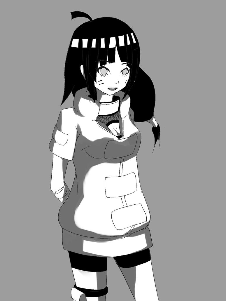 genin himawari by jugapugz