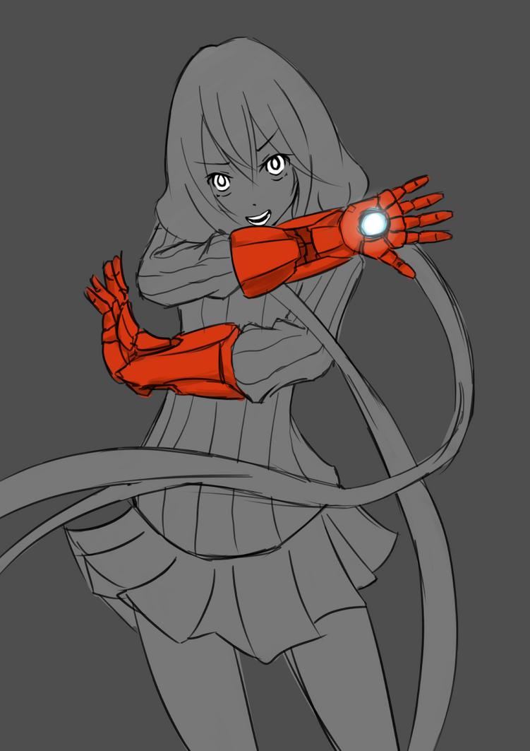 iron gloves by jugapugz