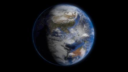 3d Earth Render by jugapugz