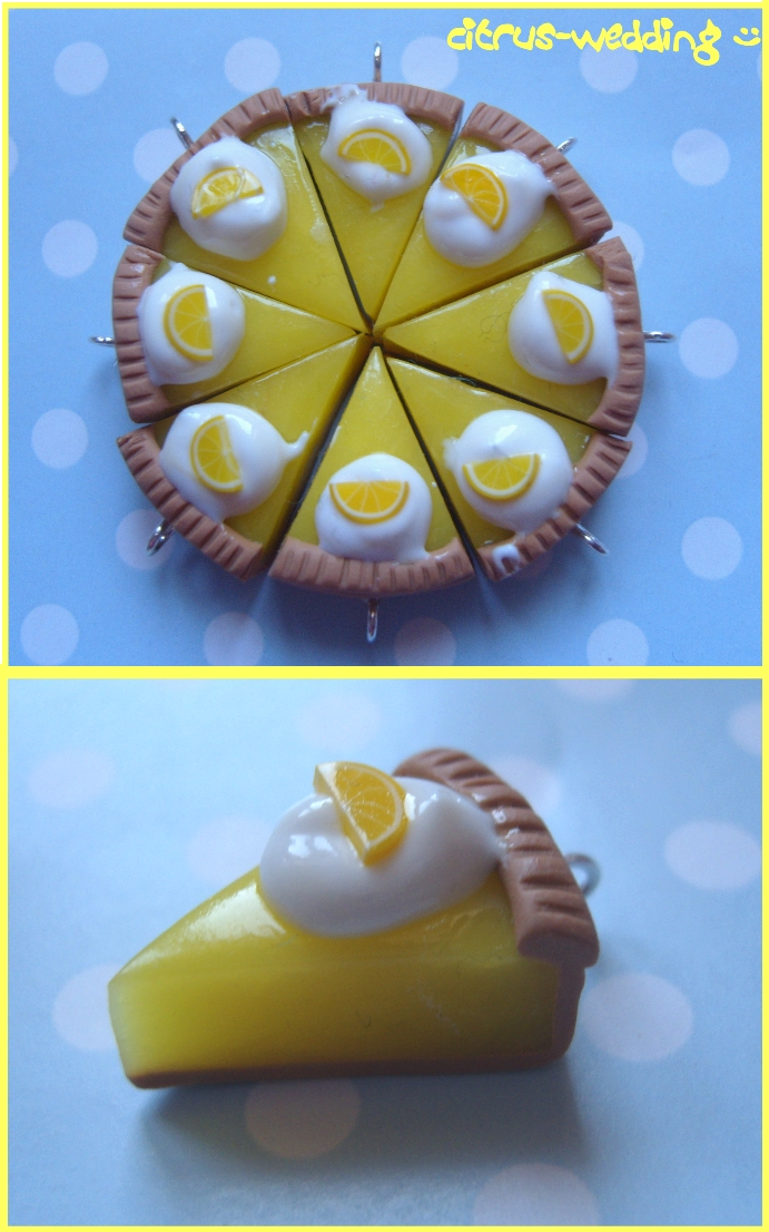 lemon meringue pie charms by citruscouture