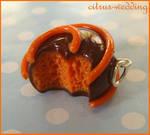 orange creme chocolate charm
