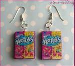 nerds earrings