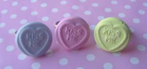 Loveheart Rings