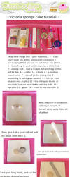 Victoria sponge charm tutorial by citruscouture