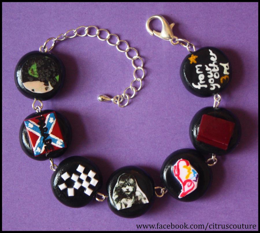 Custom Musicals bracelet VI by citruscouture