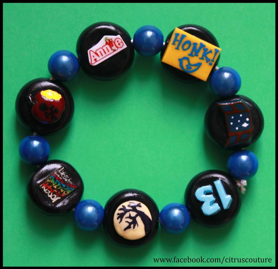 Custom Musicals bracelet VIII by citruscouture