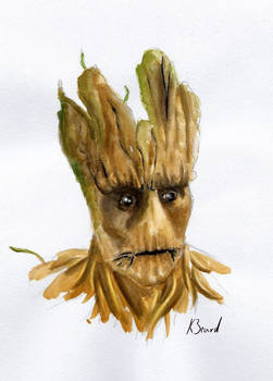 Watercolour Groot