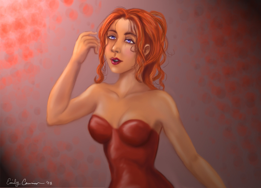 Lady In Red by EmilyCammisa